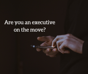 Executives on the prowl for a new job might just end up better off than they were before!