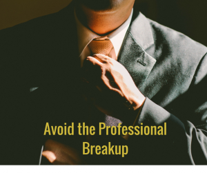 As with any other relationship, your professional relationships require nurturing.
