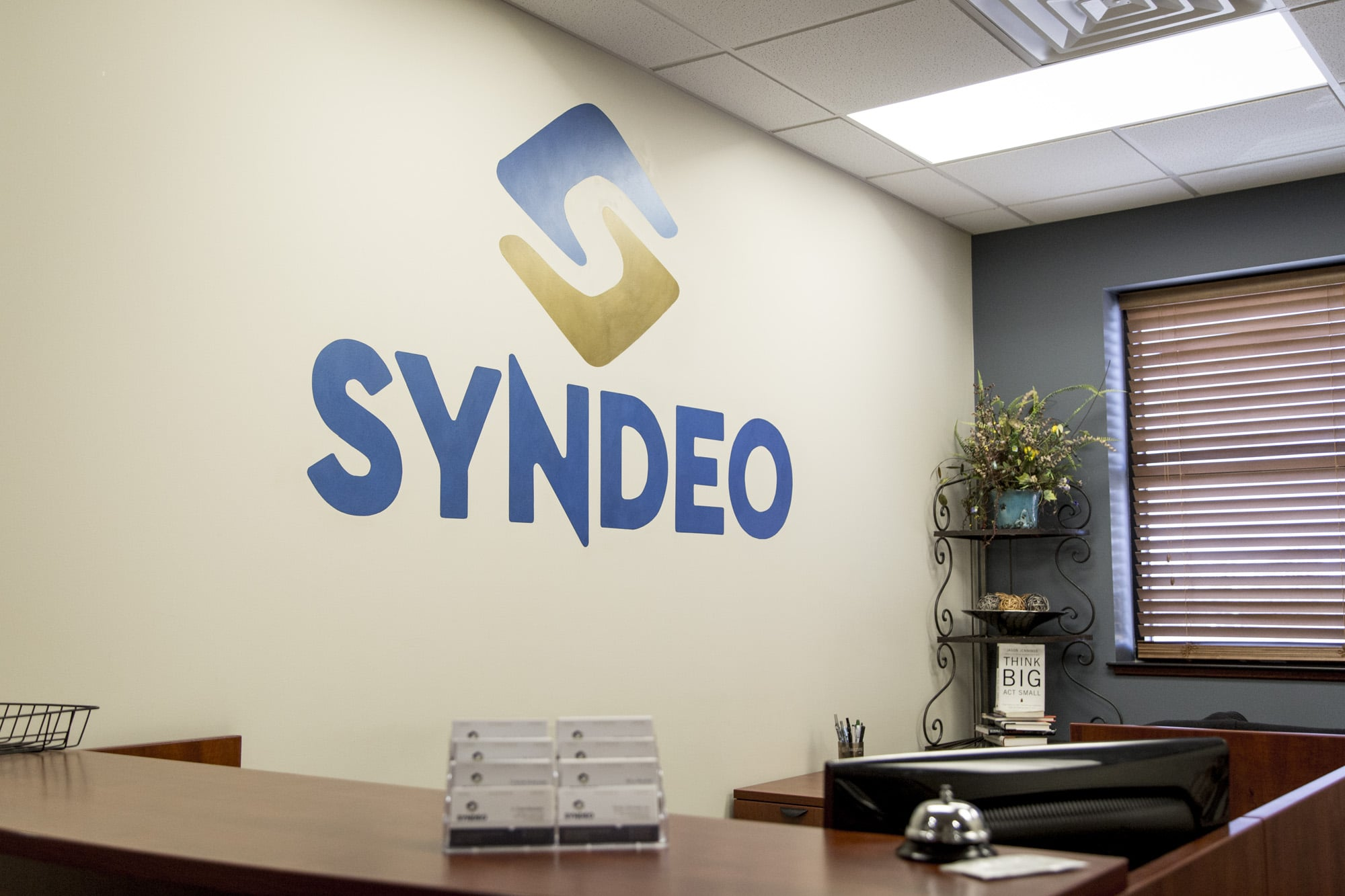 Syndeo Logo in Front Office