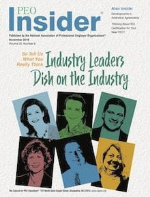 november 18 cover e1543434326788 - National panel showcases CEO Maness, Syndeo Outsourcing as PEO industry leaders - Syndeo