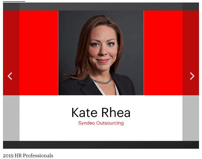Syndeo's Rhea selected for Wichita Business Journal HR Professionals Award