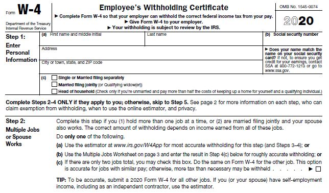 Making sense of IRS' Form W-4 changes