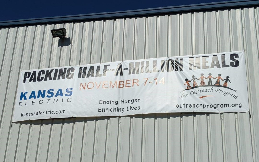 Syndeo helps push Kansas Electric toward its goal of preparing 500,000 meals for people in need